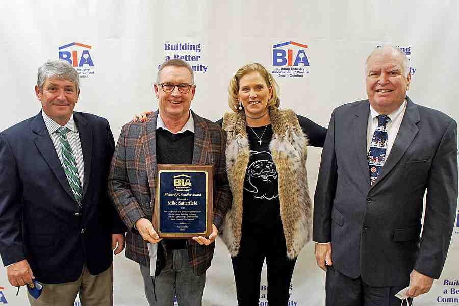 Mike Satterfield is the 2020 BOA Richard Sendler Award Winner