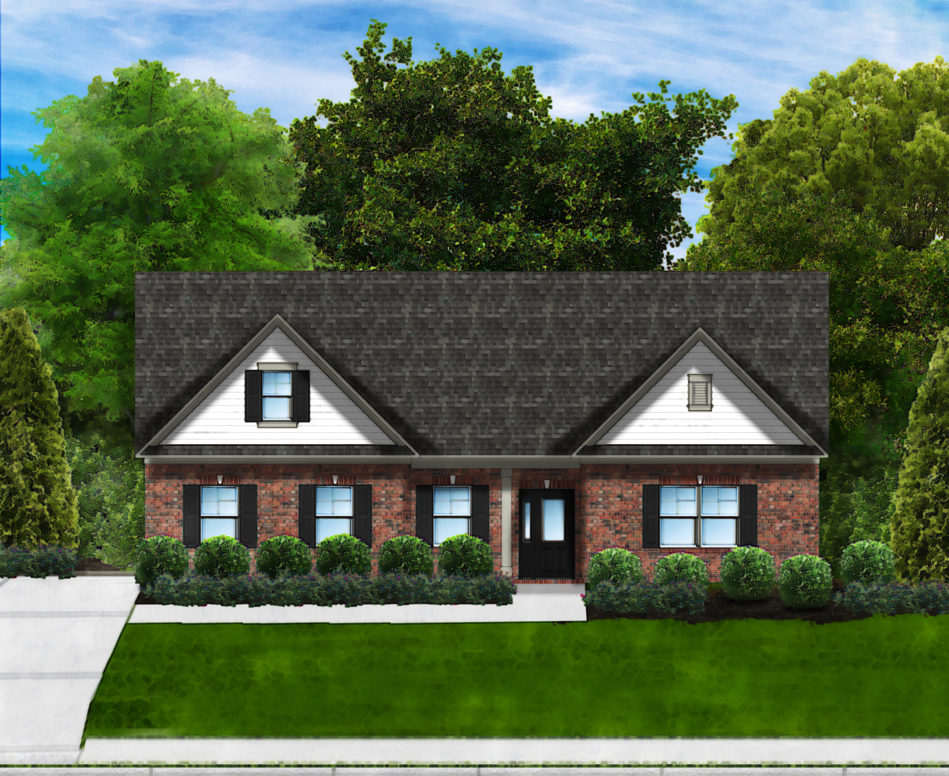 Marsh Bay C4 (Brick 4 Sides) by Great Southern Homes