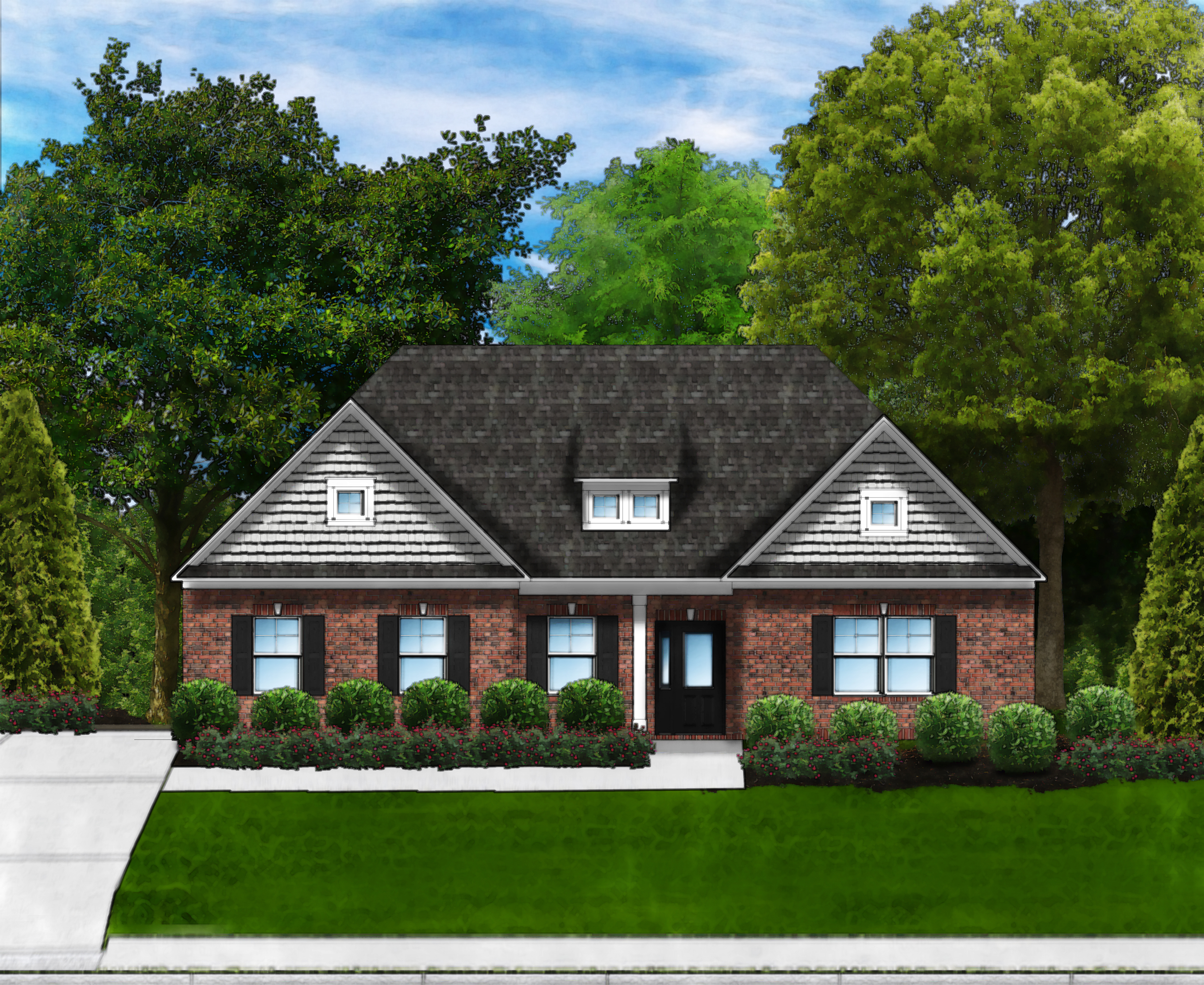 Marsh Bay D4 (Brick 4 Sides) by Great Southern Homes