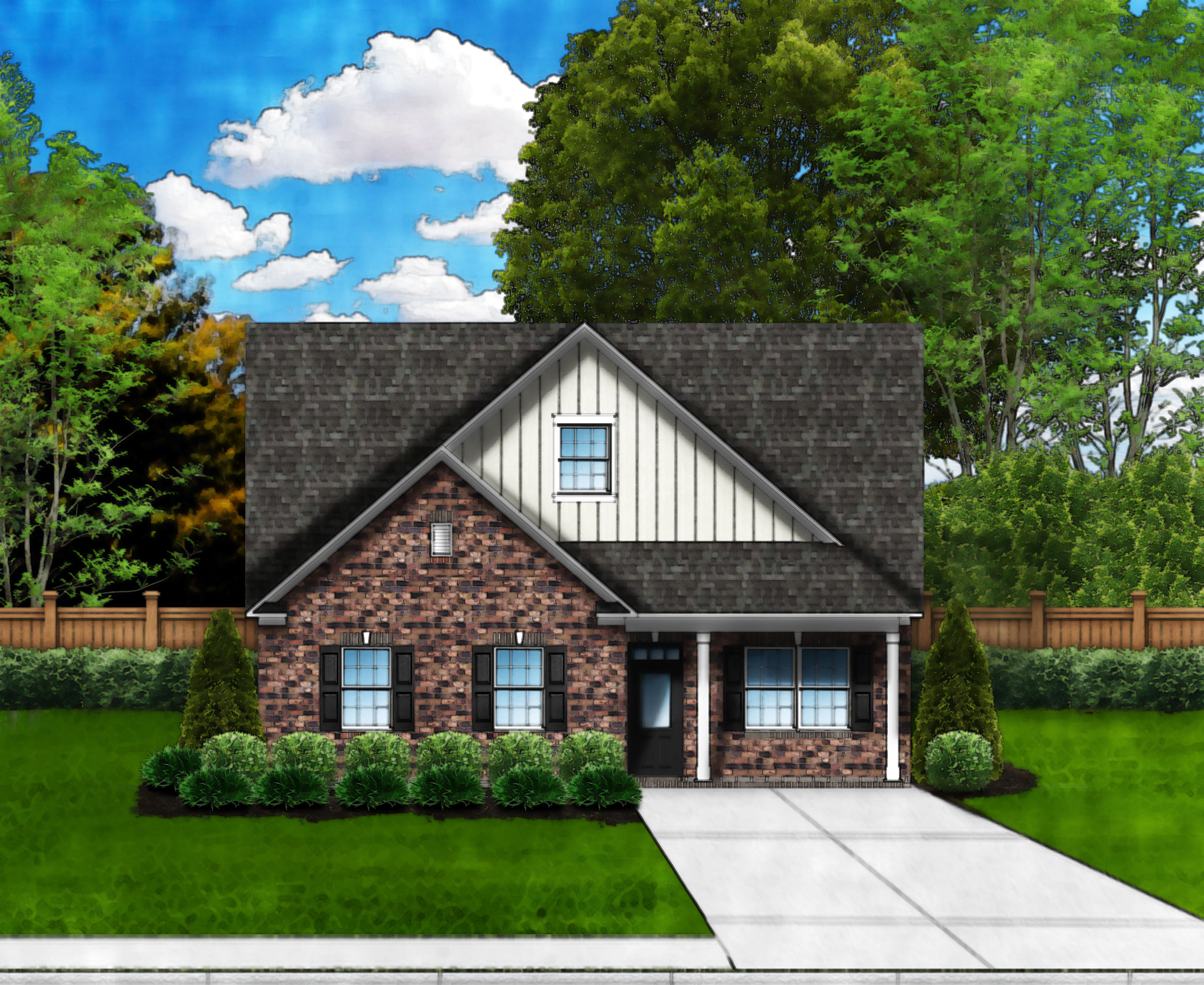 Sandpiper C4 (Full Brick) by Great Southern Homes