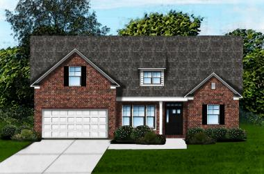Carol A2 Brick Front by Great Southern Homes