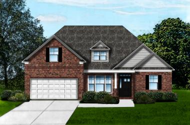 Carol B2 Brick Front by Great Southern Homes